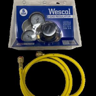 Gas regulator wescol